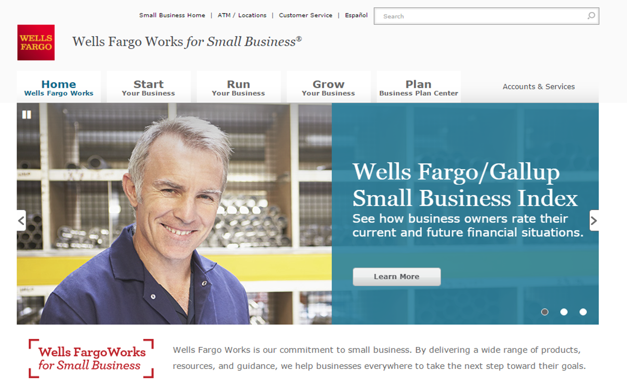 Wells Fargo Works For Small Business New Digital Portal For Small Business Customers Sme Banking Club Magazine